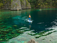 Coron sitio de stand up paddle / paddle surf en Filipinas