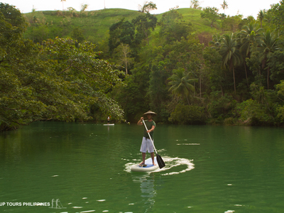 Bohol paddle board spot in Philippines