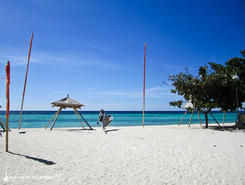 white beach spot de stand up paddle en Philippines