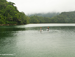 twin lakes sitio de stand up paddle / paddle surf en Filipinas