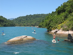 Paraty sitio de stand up paddle / paddle surf en Brasil