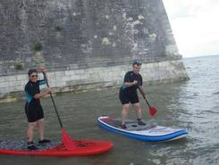 La Citadelle paddle board spot in France