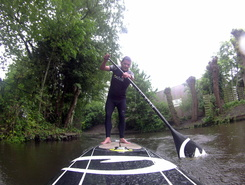 Blijburg paddle board spot in Netherlands