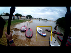 Plan d'eau de la Phibie paddle board spot in France