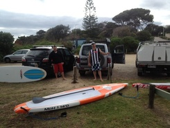 Shire hall beach, Mornington sitio de stand up paddle / paddle surf en Australia