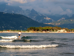 Fiumaretta sitio de stand up paddle / paddle surf en Italia