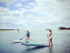 Goat Island Sunshine Coast paddle board spot in Australia