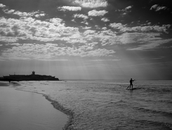 Carcavelos sitio de stand up paddle / paddle surf en Portugal