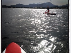 puerto pollensa paddle board spot in Spain