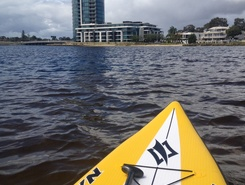 Swan River sitio de stand up paddle / paddle surf en Australia