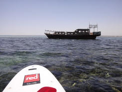 RedSea spot de stand up paddle en Égypte