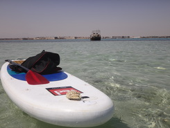 RedSea sitio de stand up paddle / paddle surf en Egipto