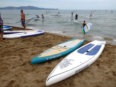 Sant Pere Pescador paddle board spot in Spain