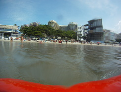 Ilha Cagarra paddle board spot in Brazil