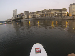 Parc de la Boverie spot de stand up paddle en Belgique