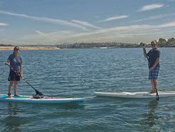 Mariners Cove Mission Bay paddle board spot in United States