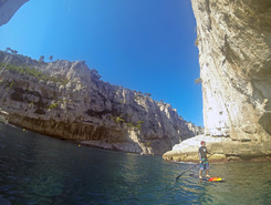calanque d'en-vau paddle board spot in France