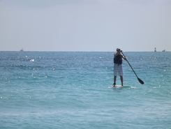 Miami Beach paddle board spot in United States