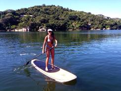 Lagoa da Conceição paddle board spot in Brazil