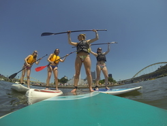 SUP3Rivers paddle board spot in United States