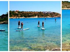 Loutraki Bay sitio de stand up paddle / paddle surf en Grecia