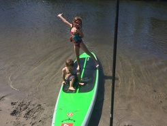 Whiskey Creek paddle board spot in United States