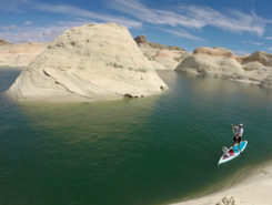 Lone Rock, Lake Powell sitio de stand up paddle / paddle surf en Estados Unidos