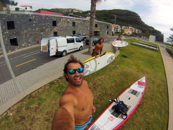 Clube Naval do Funchal paddle board spot in Portugal