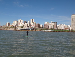 Varese paddle board spot in Argentina