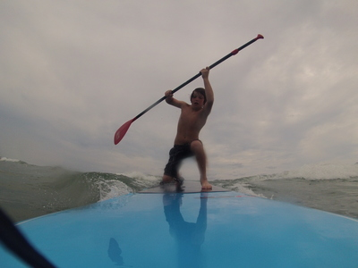 Surf  Side  paddle board spot in United States