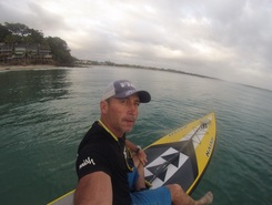 Little cove paddle board spot in Australia