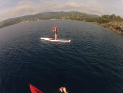 le lavandou paddle board spot in France