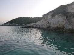 Marathi bay  paddle board spot in Greece