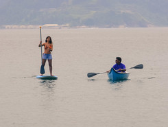 Ilha do Sandri sitio de stand up paddle / paddle surf en Brasil