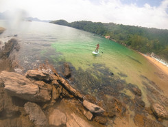 Ilha do Sandri paddle board spot in Brazil