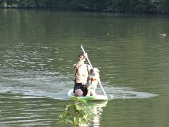 la lys spot de stand up paddle en Belgique