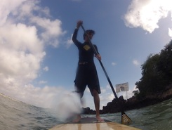 Ponta Negra sitio de stand up paddle / paddle surf en Brasil