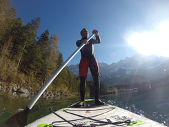 Eibsee sitio de stand up paddle / paddle surf en Alemania
