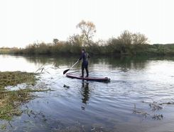 River Meuse spot de stand up paddle en France