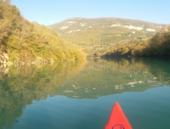Rhône spot de stand up paddle en France