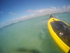 pedra virada sitio de stand up paddle / paddle surf en Brasil