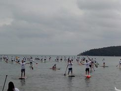Porto Belo sitio de stand up paddle / paddle surf en Brasil