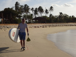 Tourinos sitio de stand up paddle / paddle surf en Brasil