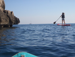 Cassis spot de stand up paddle en France