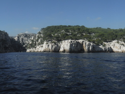 Cassis paddle board spot in France