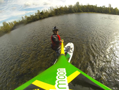 Ain river sitio de stand up paddle / paddle surf en Francia