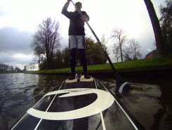 Oostrum spot de stand up paddle en Pays-Bas