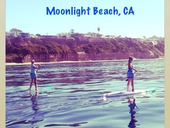 Encinitas-Cardiff State Beach paddle board spot in United States