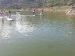 barragem de santa clara-a-velha paddle board spot in Portugal