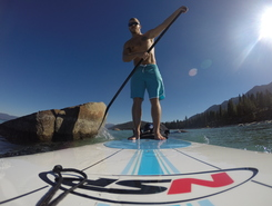 D.L. Bliss State Park paddle board spot in United States